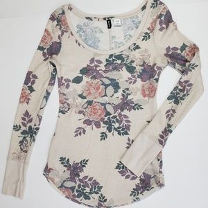 BDG Urban Outfitters Flower Thermal Size S